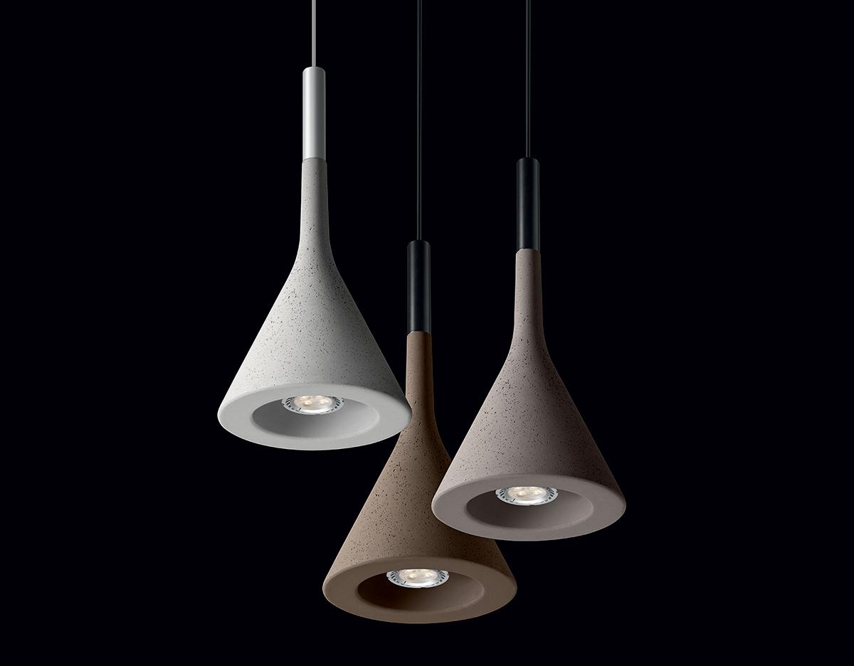 Aplomb suspension lamp for Suspension led design