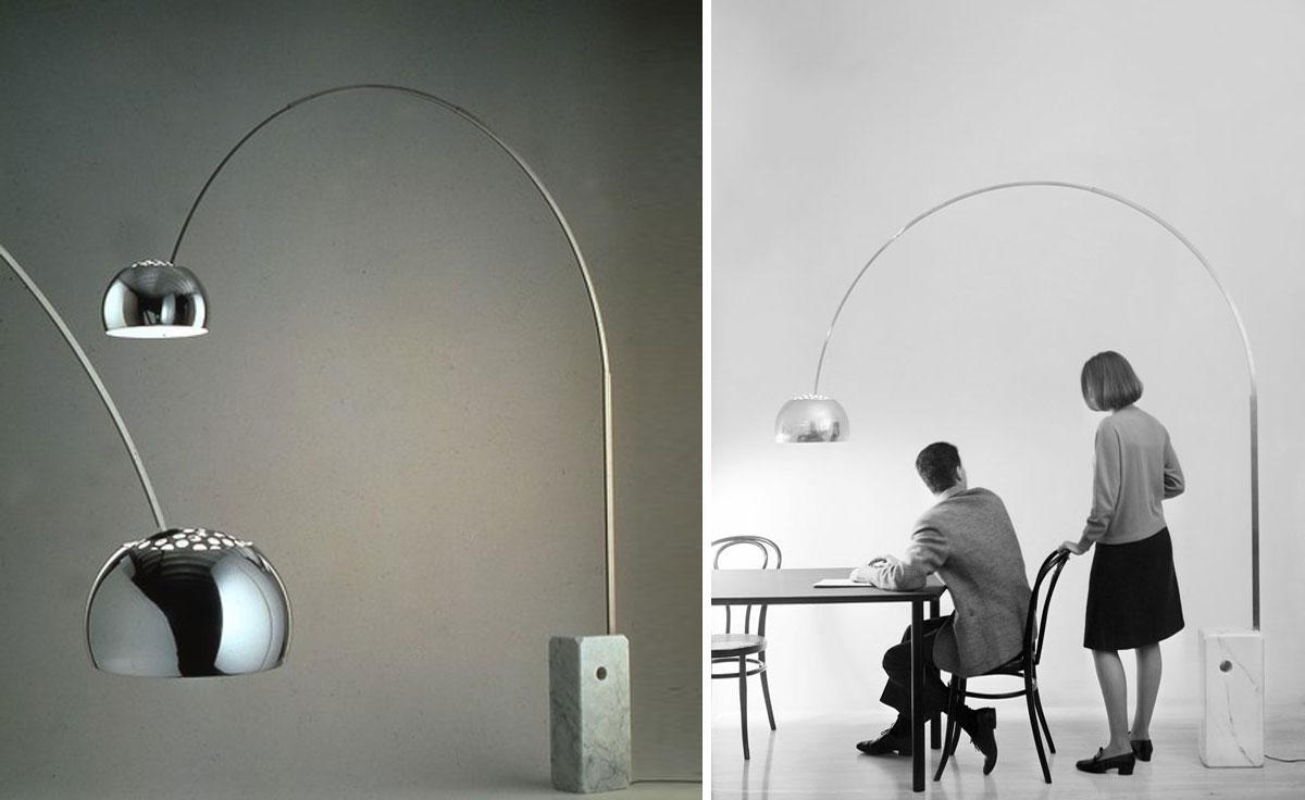 Flos Arco Floor Lamp Hivemodern Com
