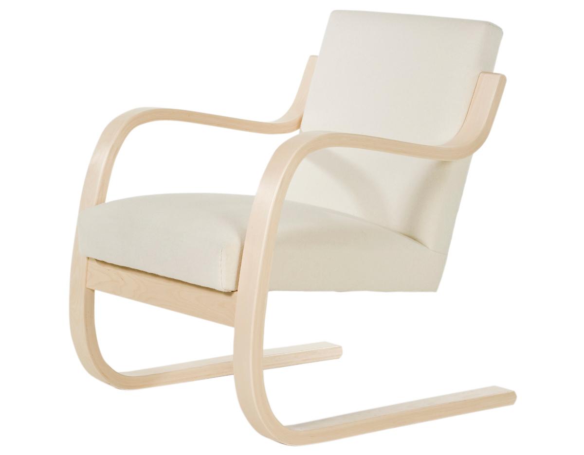 Patio Furniture Upholstery Alvar Aalto Armchair 402 Hivemodern Com