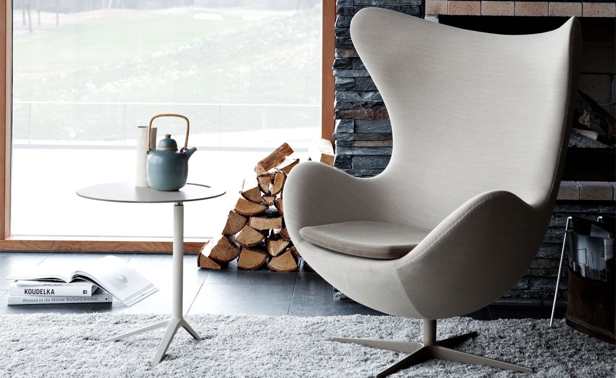 Arne jacobsen egg chair for Moderne sessel design