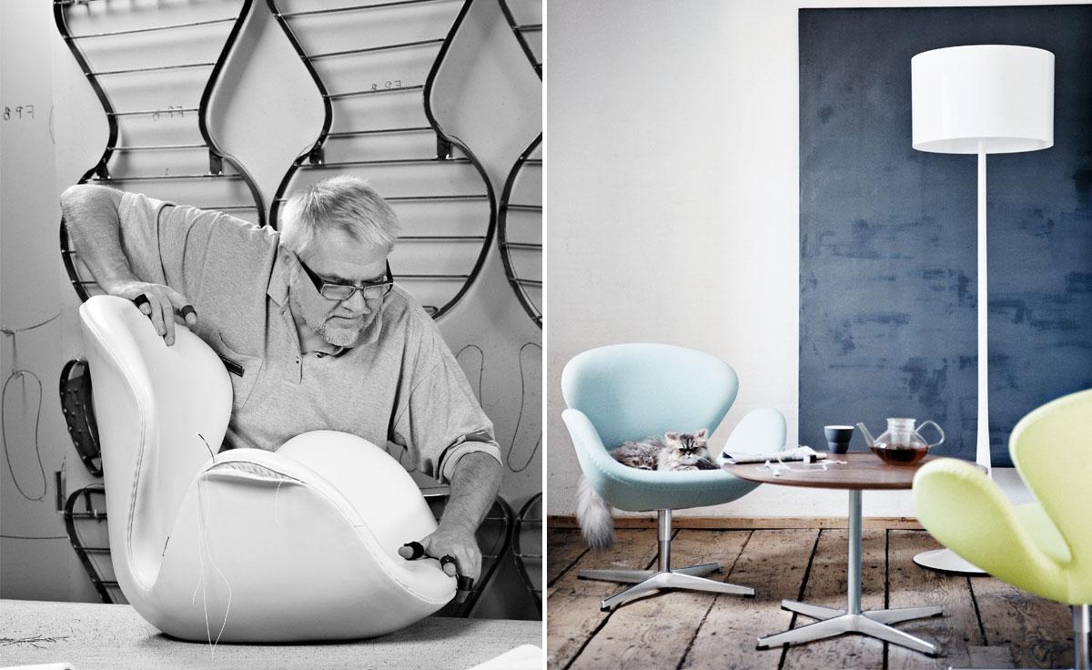 Arne Jacobsen Swan Chair Hivemodern Com