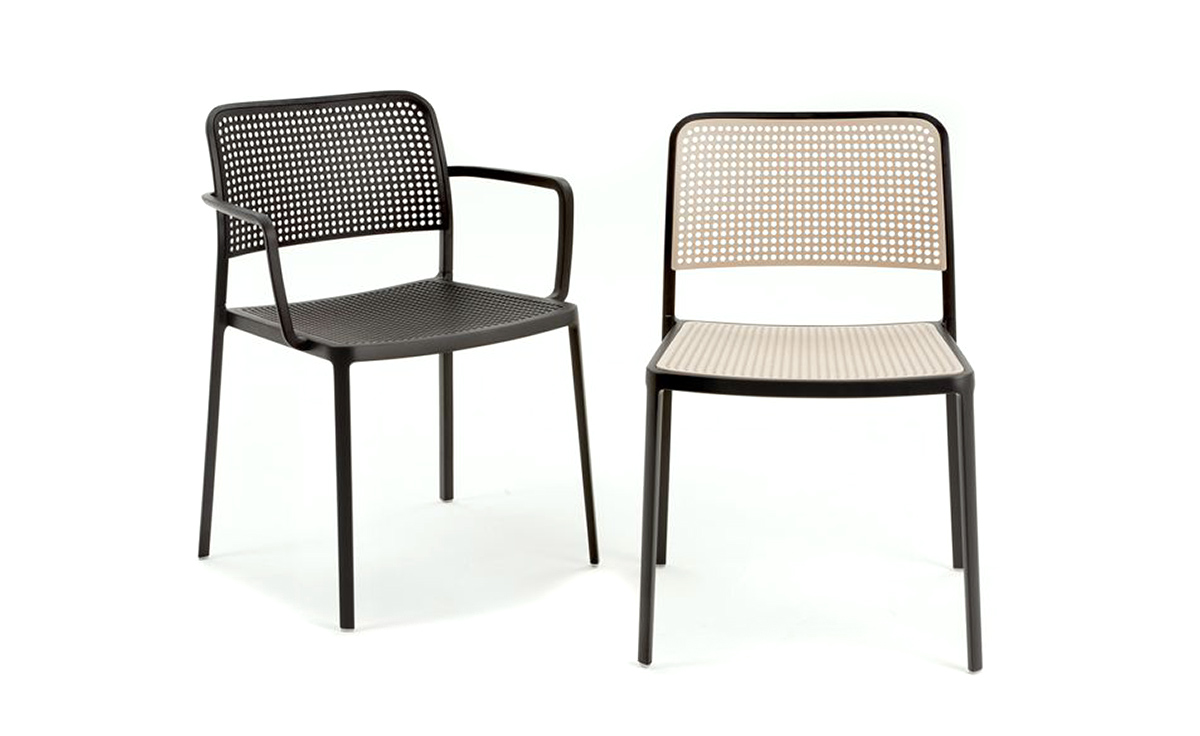 Kartell Garden Furniture Audrey side chair 2 pack hivemodern audrey side chair 2 pack workwithnaturefo