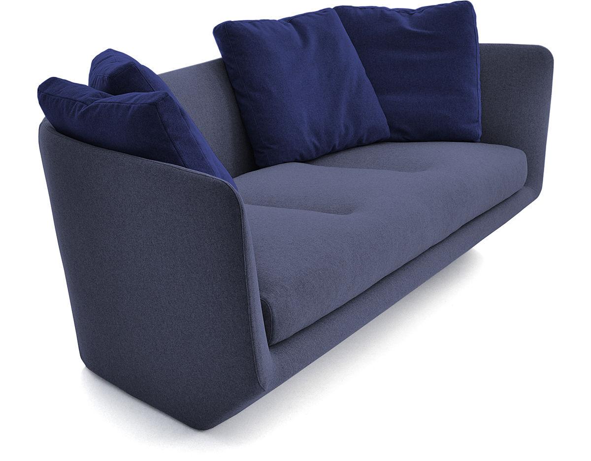 Aura 220 Three Seat Sofa Hivemodern Com