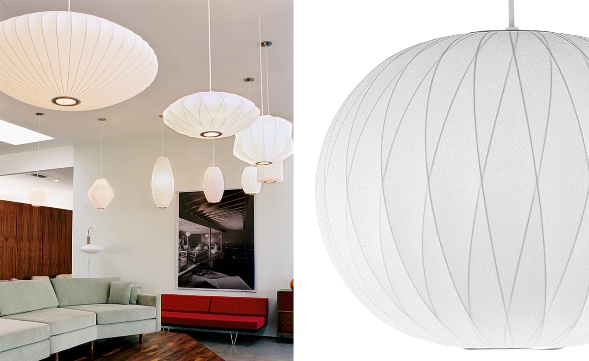Nelson Bubble Lamp Crisscross Ball Hivemodern Com