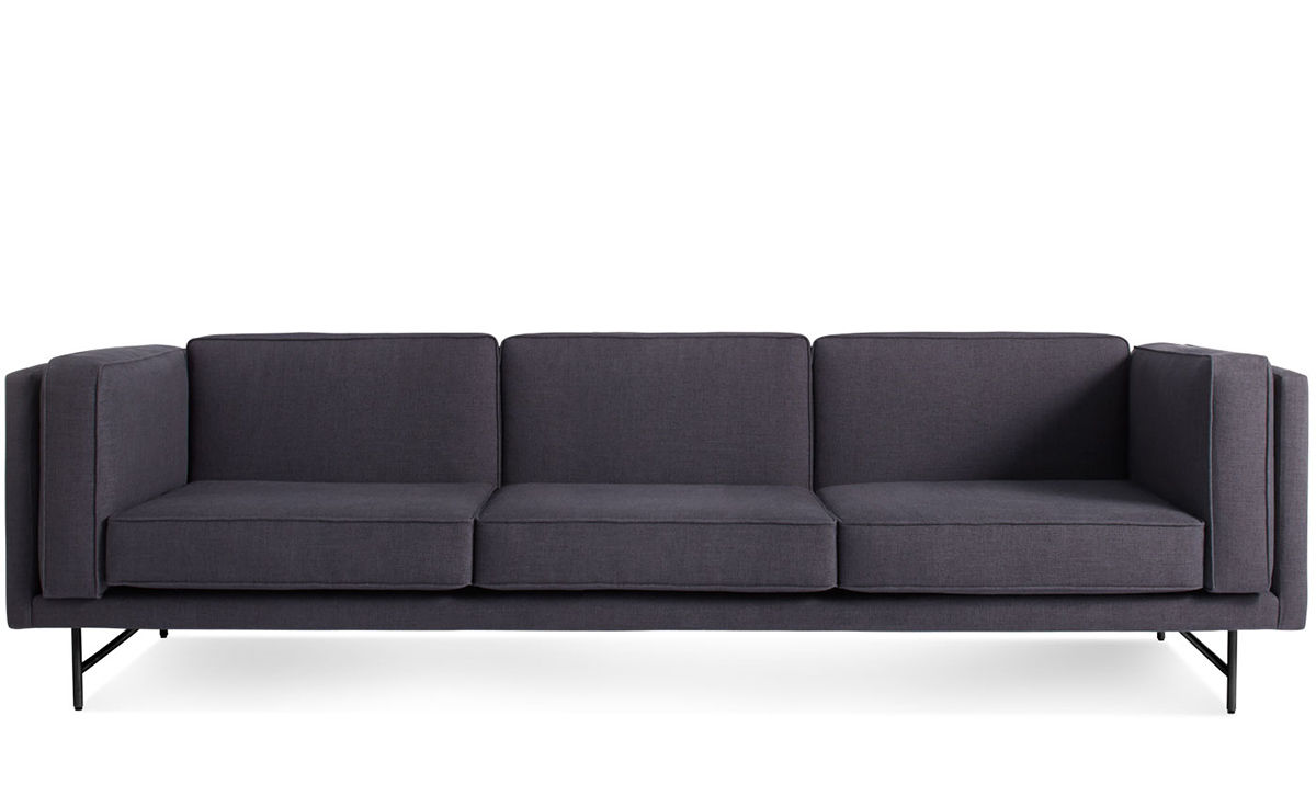 96 Sofa Modern 96 Inch Bench Seat Sofa Club Furniture   TheSofa