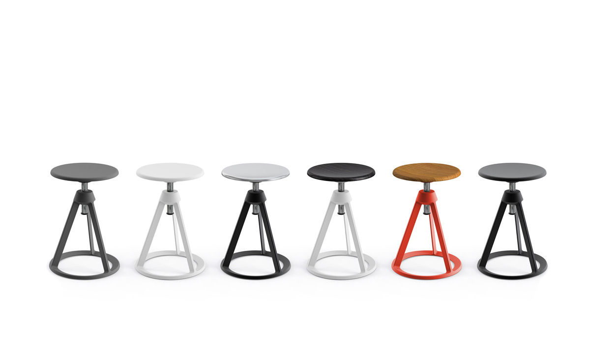 Superbe Barber U0026 Osgerby Piton™ Adjustable Stool