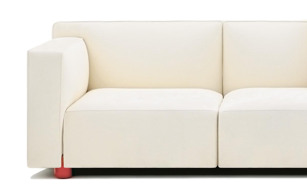 Barber Osgerby Asymmetric Sofa