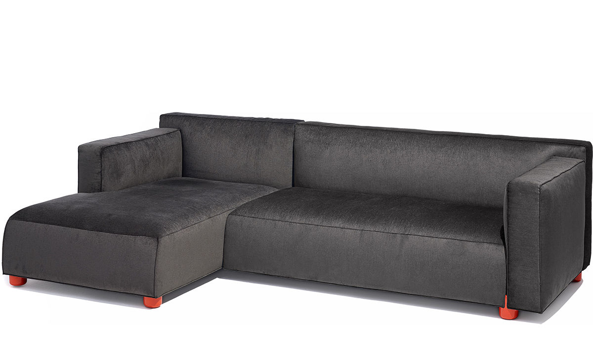 Barber Amp Osgerby Asymmetric Sofa With Chaise Hivemodern Com