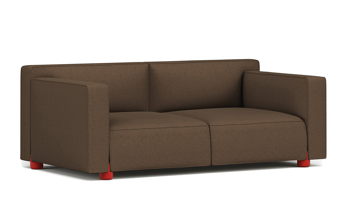 Barber osgerby two seat sofa for Modern hive