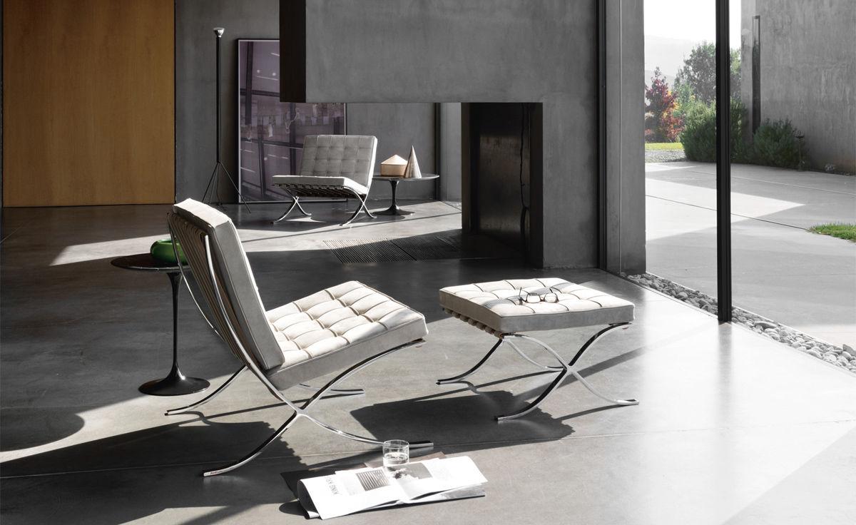 Barcelona Chair Chrome Plated Hivemoderncom