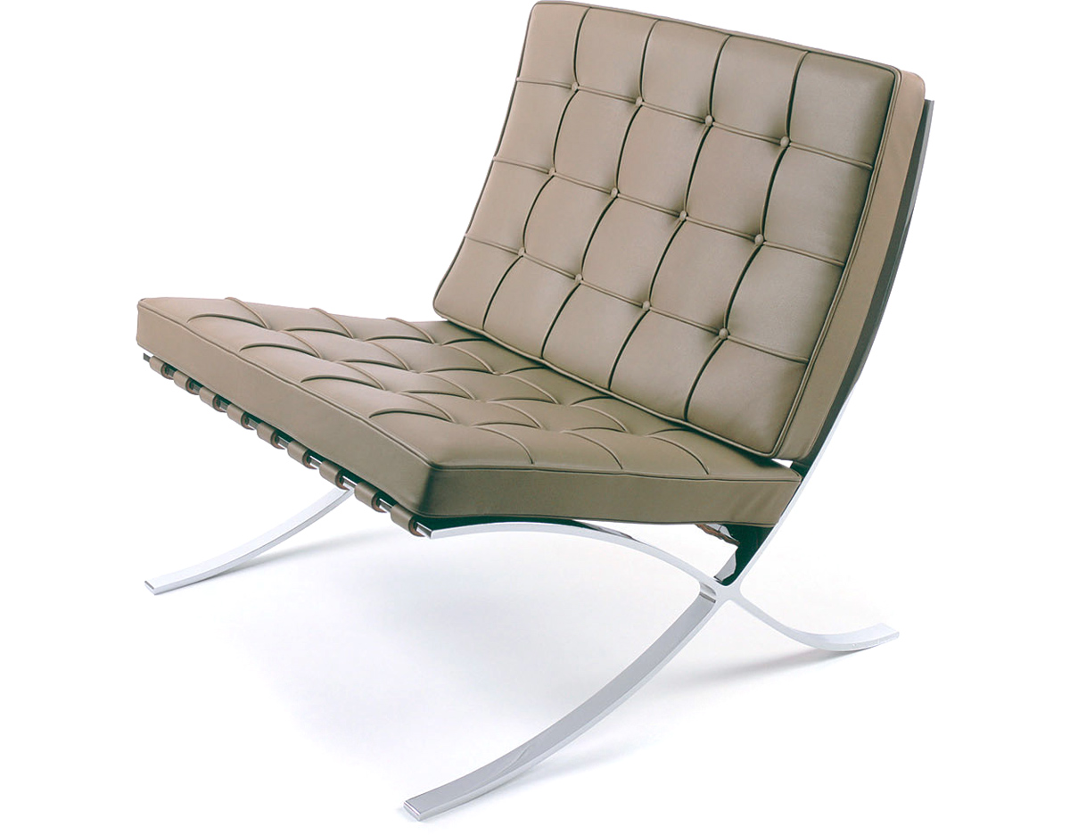 Barcelona Chair Chrome Plated hivemodern
