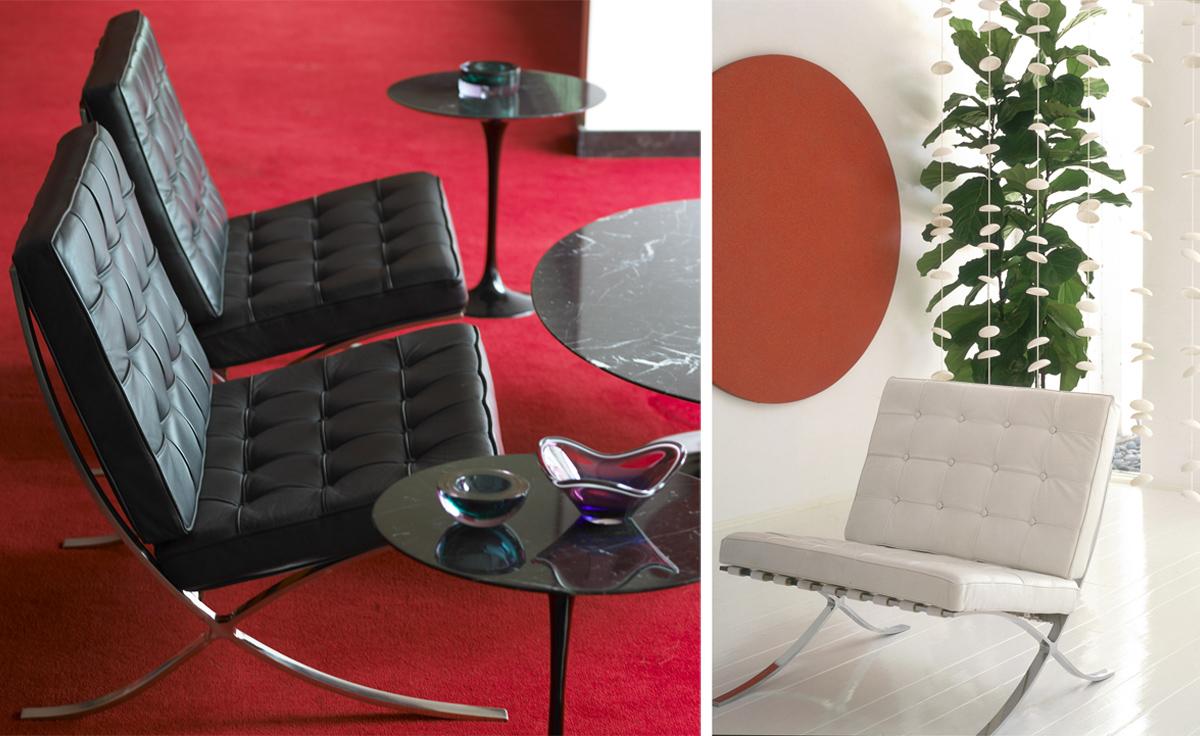 Barcelona Chair Chrome Plated Hivemodern Com