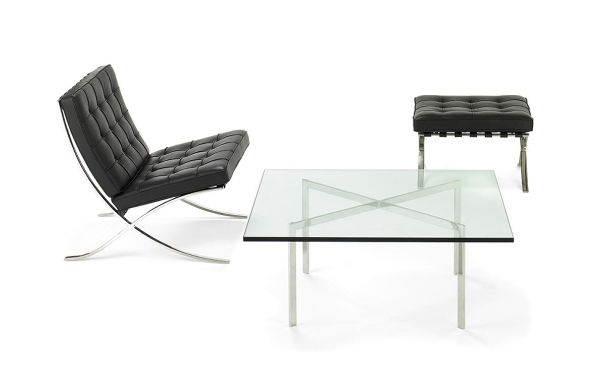 Barcelona coffee table - Mies van der rohe sedia ...