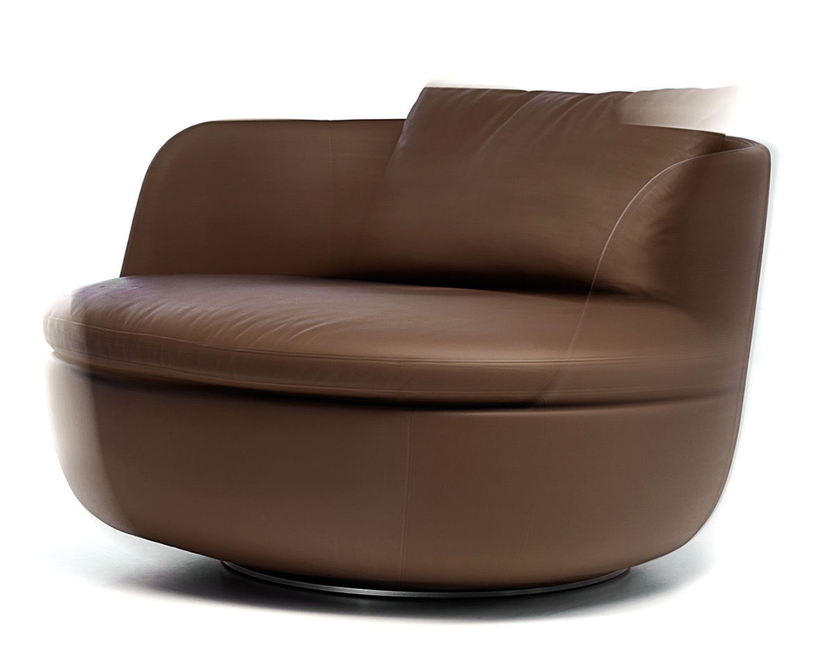 Bart Swivel Lounge Chair Hivemodern Com