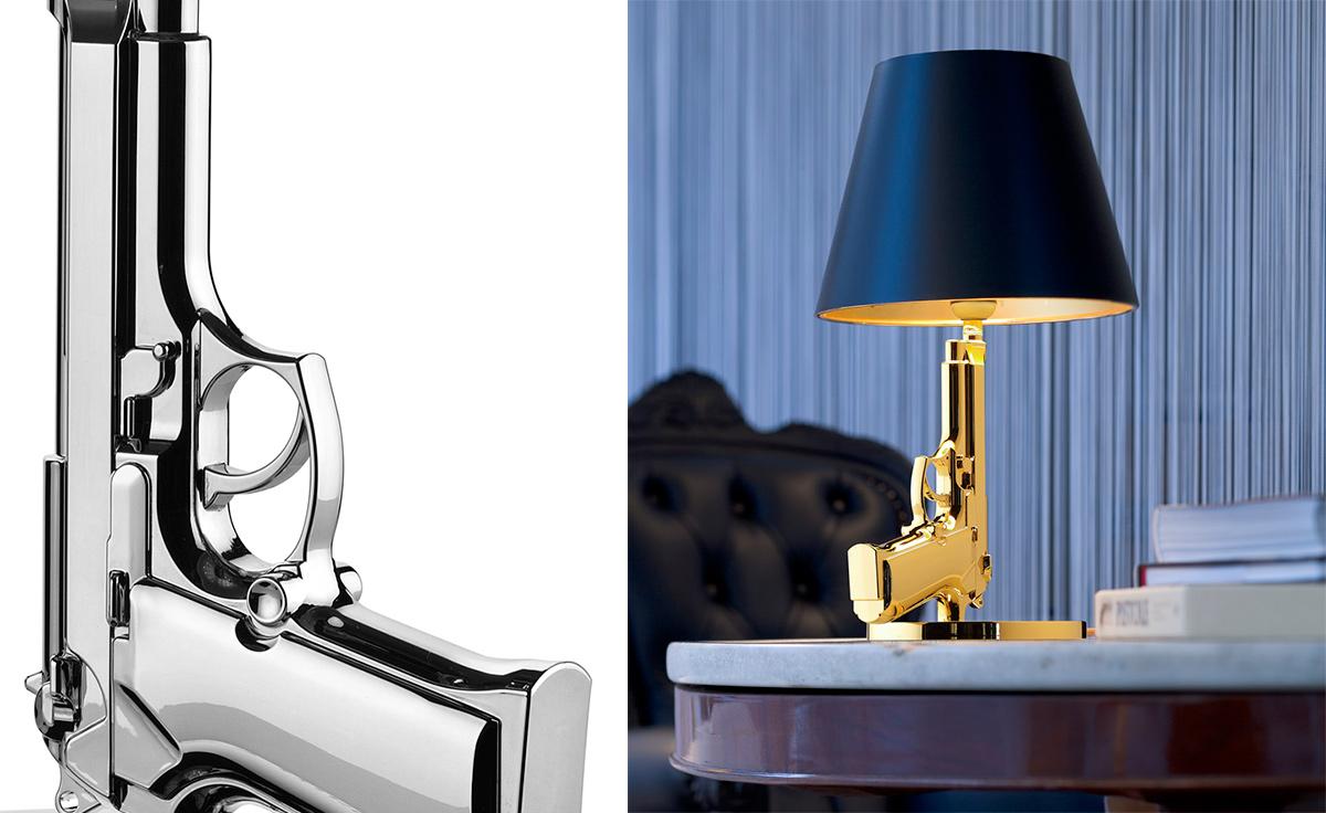 Bedside Gun Lamp Hivemodern Com