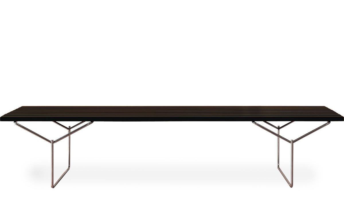 Swell Bertoia Bench Andrewgaddart Wooden Chair Designs For Living Room Andrewgaddartcom