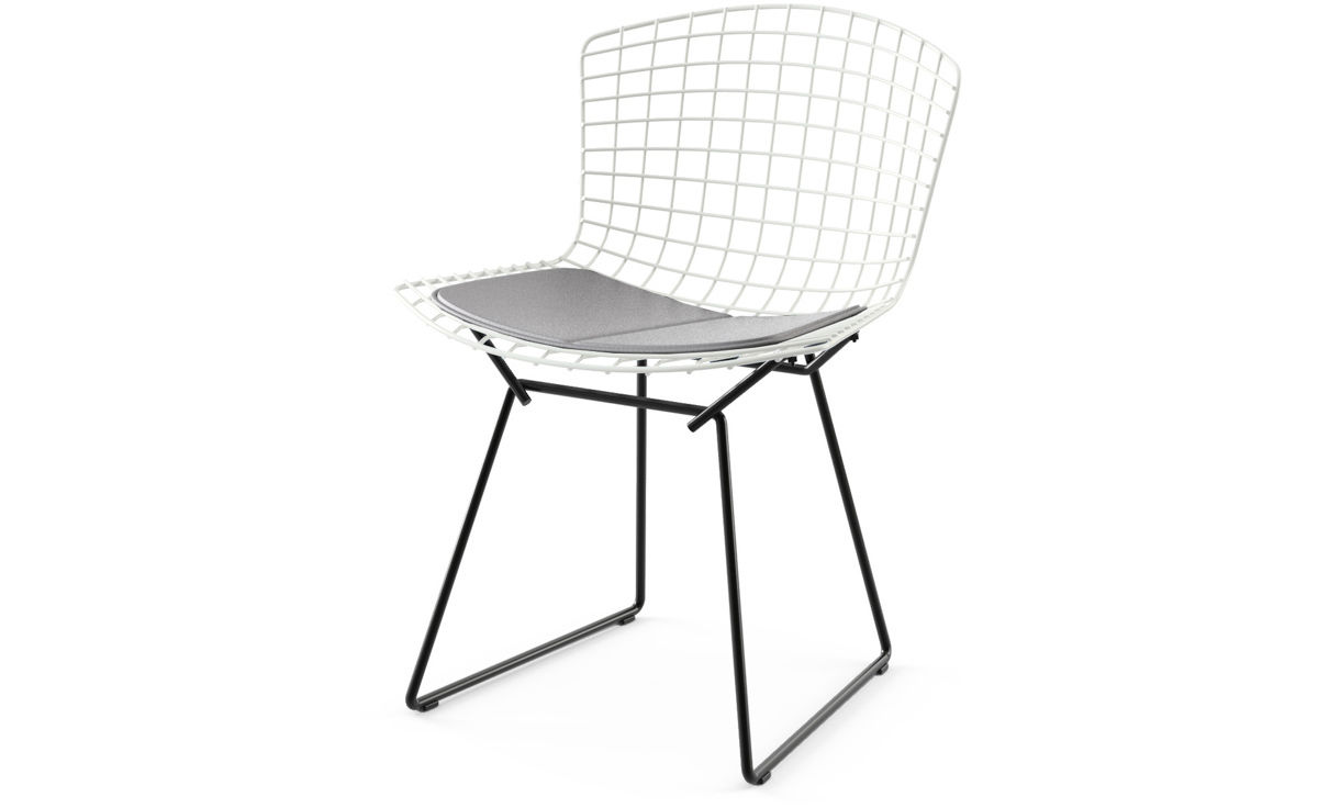 Bertoia Two Tone Side Chair With Seat Cushion - hivemodern.com - overview ...