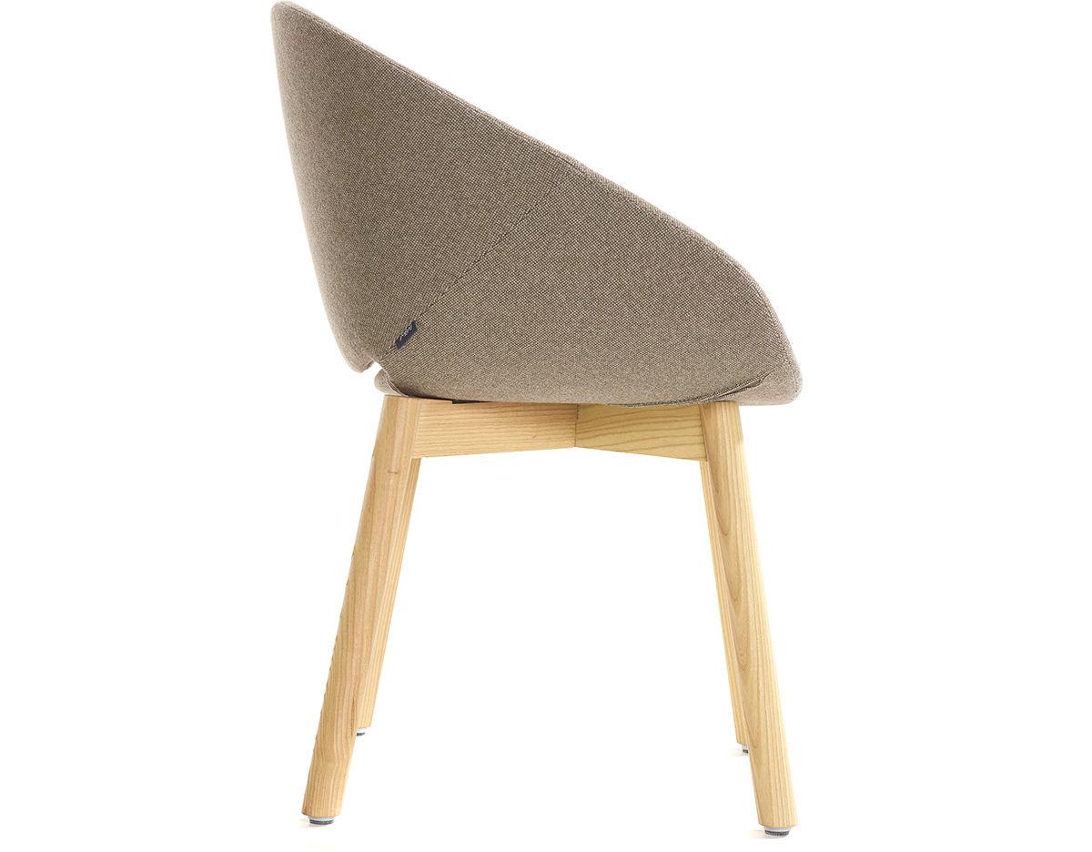 Beso Wood 4 Leg Armchair