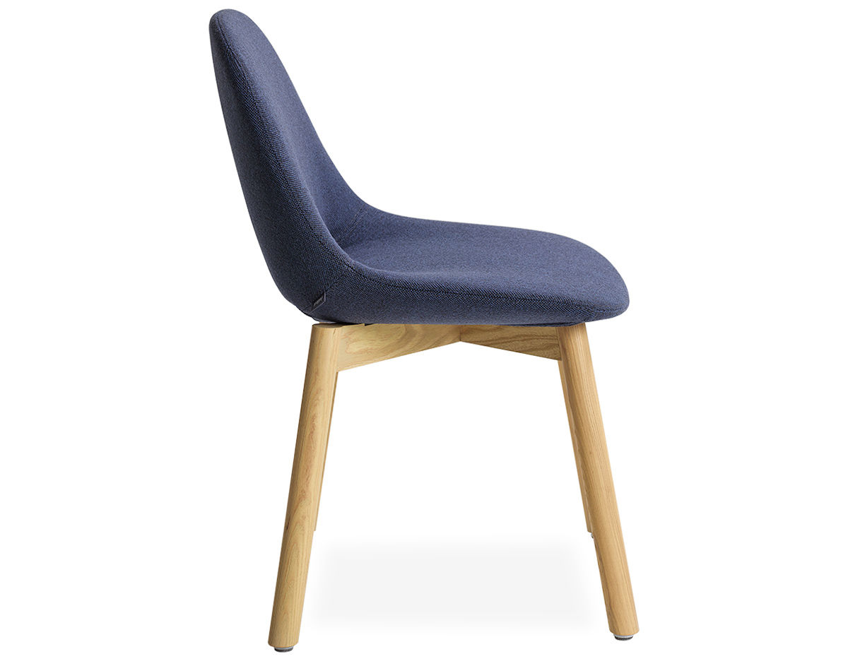 Beso Wood 4 Leg Side Chair - hivemodern.com