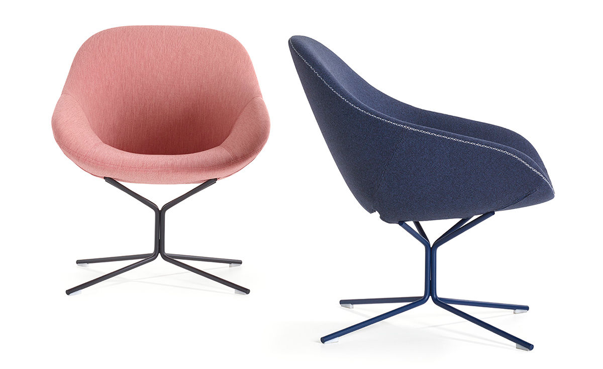 Beso Lounge Chair With Star Base