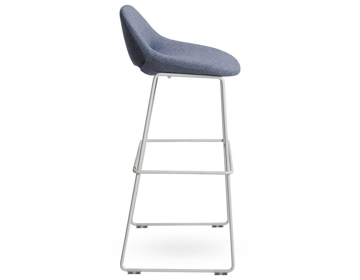 Magnificent Beso Metal Leg Stool Customarchery Wood Chair Design Ideas Customarcherynet