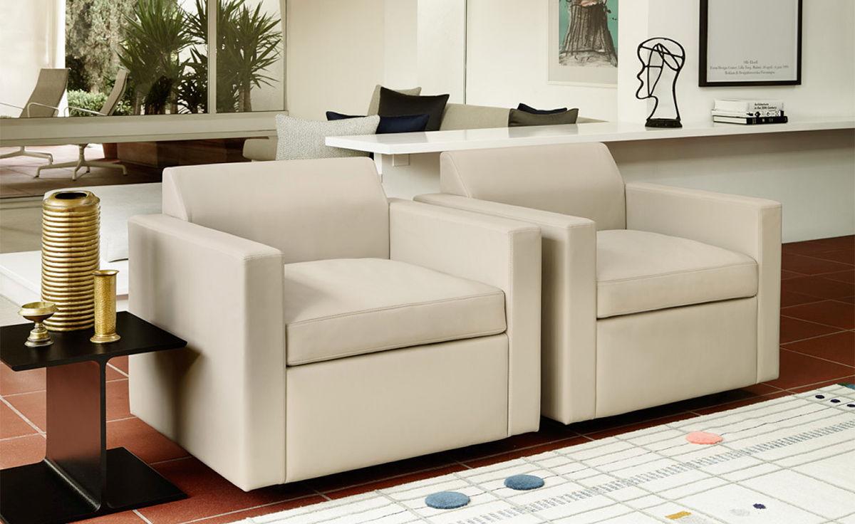 Bevel Club Chair - hivemodern.com