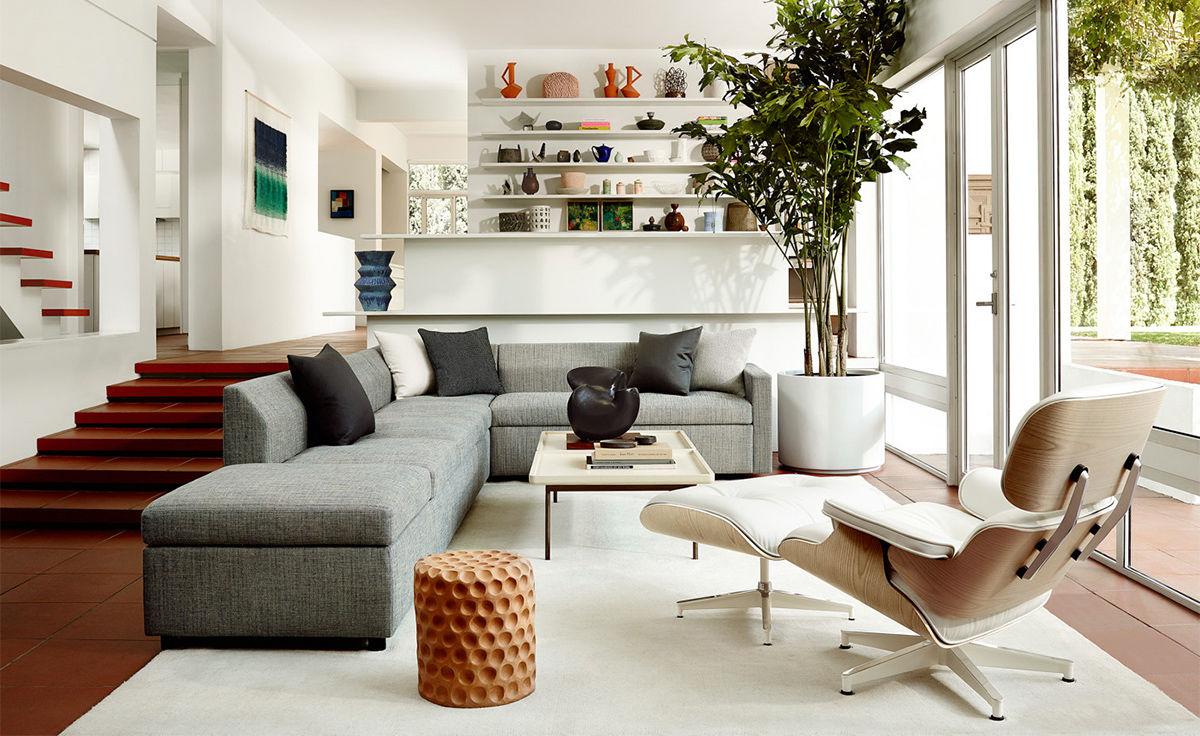 Bevel Sectional Sofa Hivemodern Com