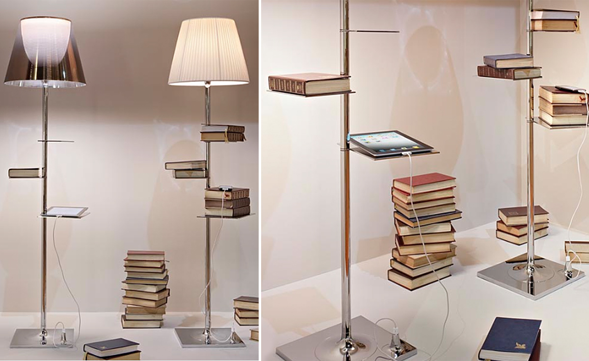Bibliotheque Nationale Floor Lamp Hivemodern Com