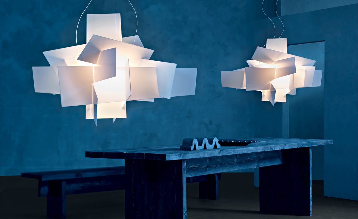 Big bang suspension lamp for Luminaire suspension design