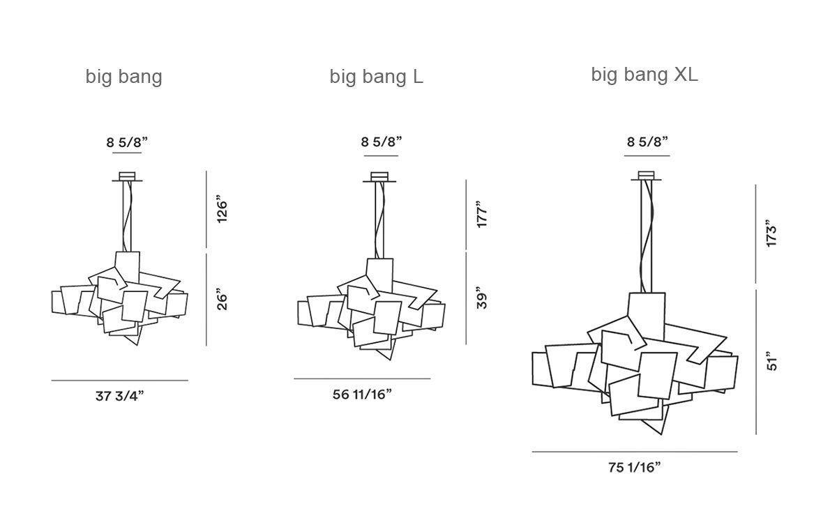 big bang suspension lamp  hivemoderncom - overview manufacturer media reviews