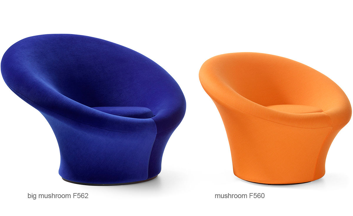 Mushroom Lounge Chair F562 By Pierre Paulin