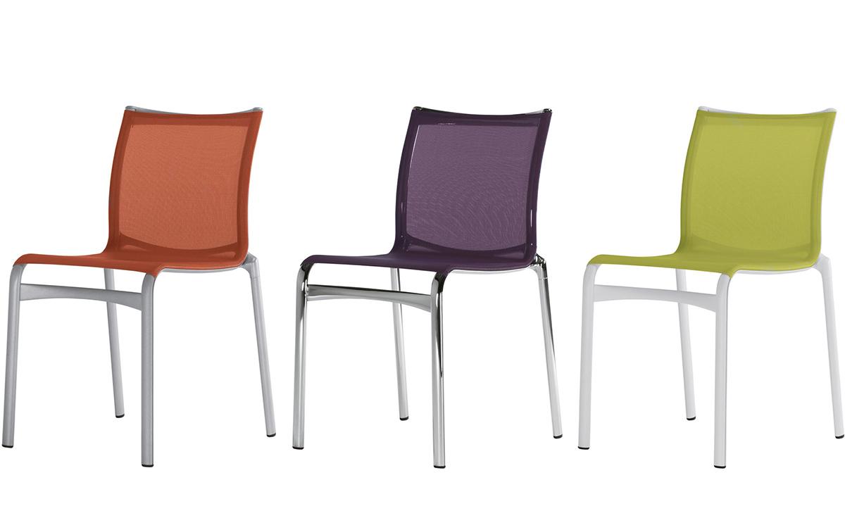 Alberto Meda Design.Bigframe Side Chair