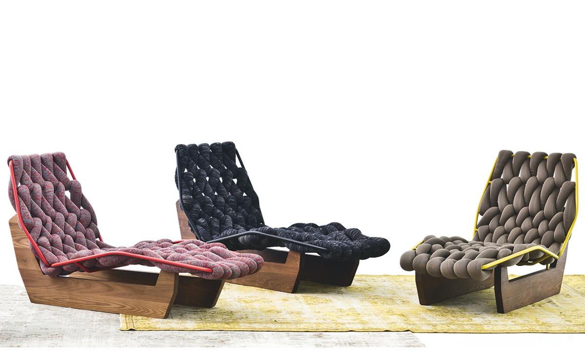 Biknit Chaise Lounge Chair Hivemodern Com