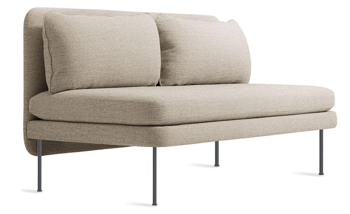 Bloke 60 Quot Armless Sofa Hivemodern Com