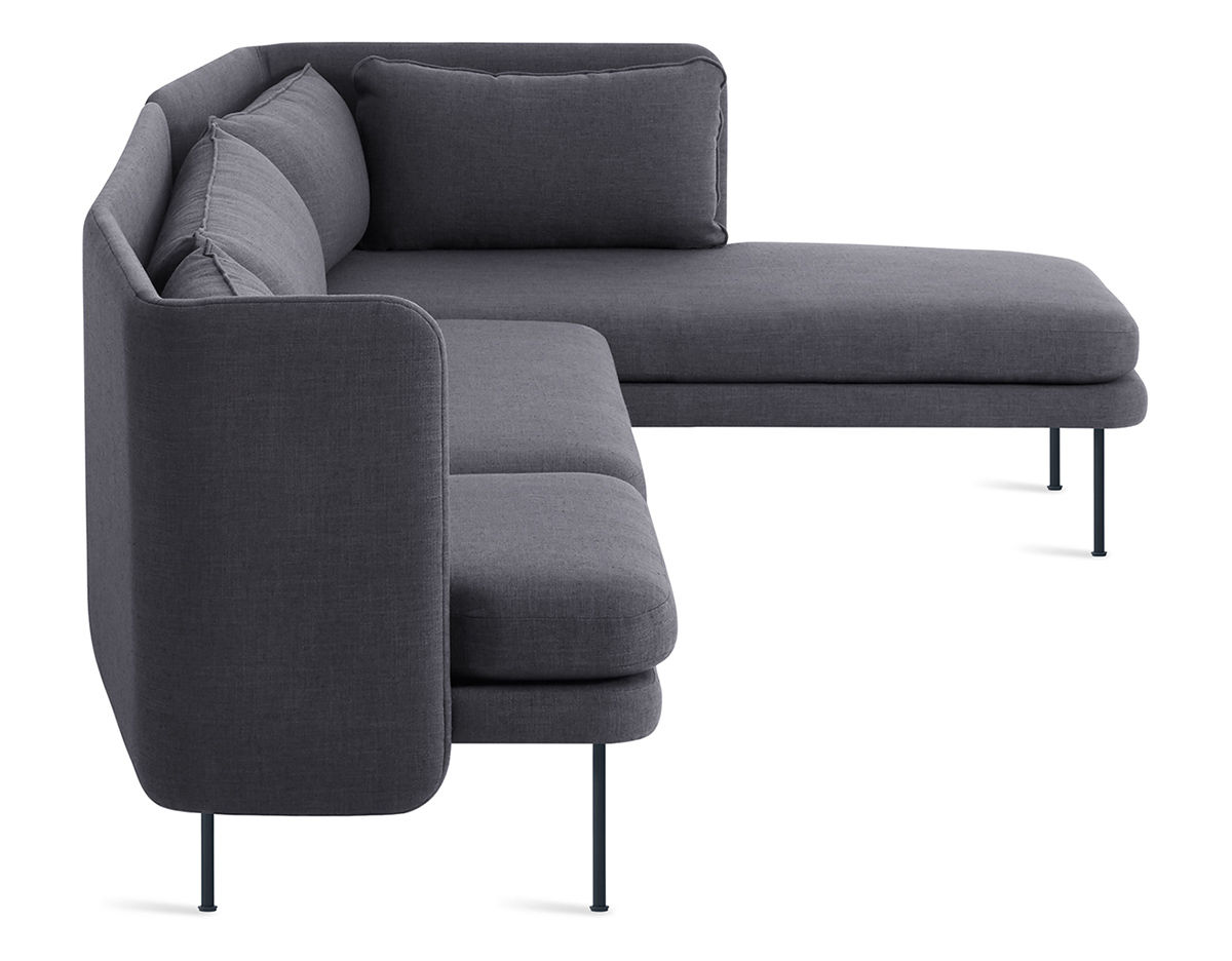 Bloke Sofa With Chaise Hivemodern