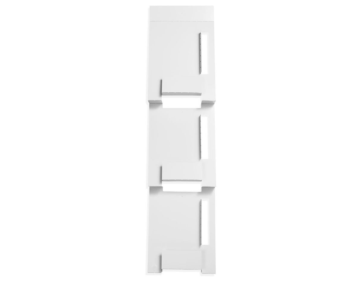 Uncategorized White Wall Mounted Magazine Rack blu dot 2d3d wall mount magazine rack hivemodern com rack
