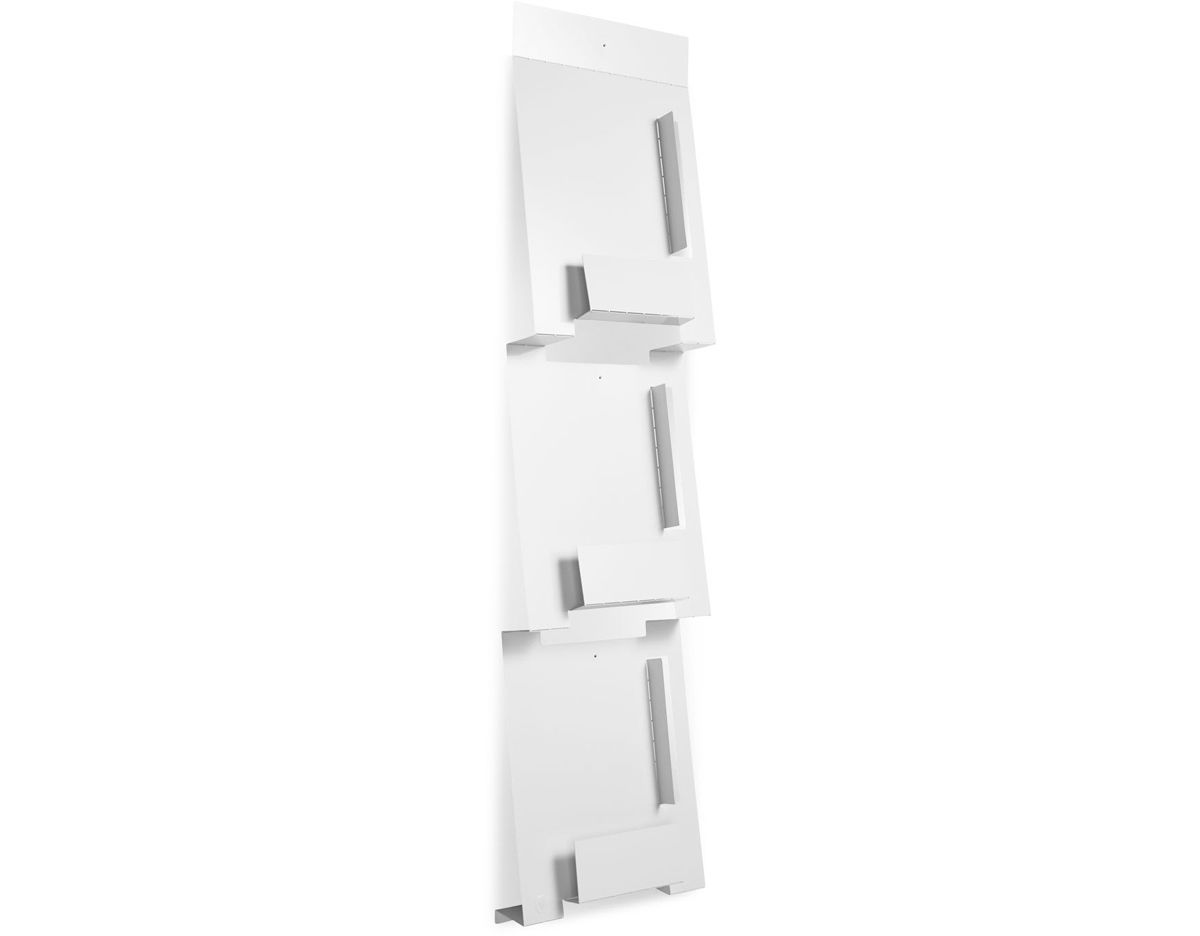 Blu Dot 2d 3d Wall Mount Magazine Rack Hivemodern Com