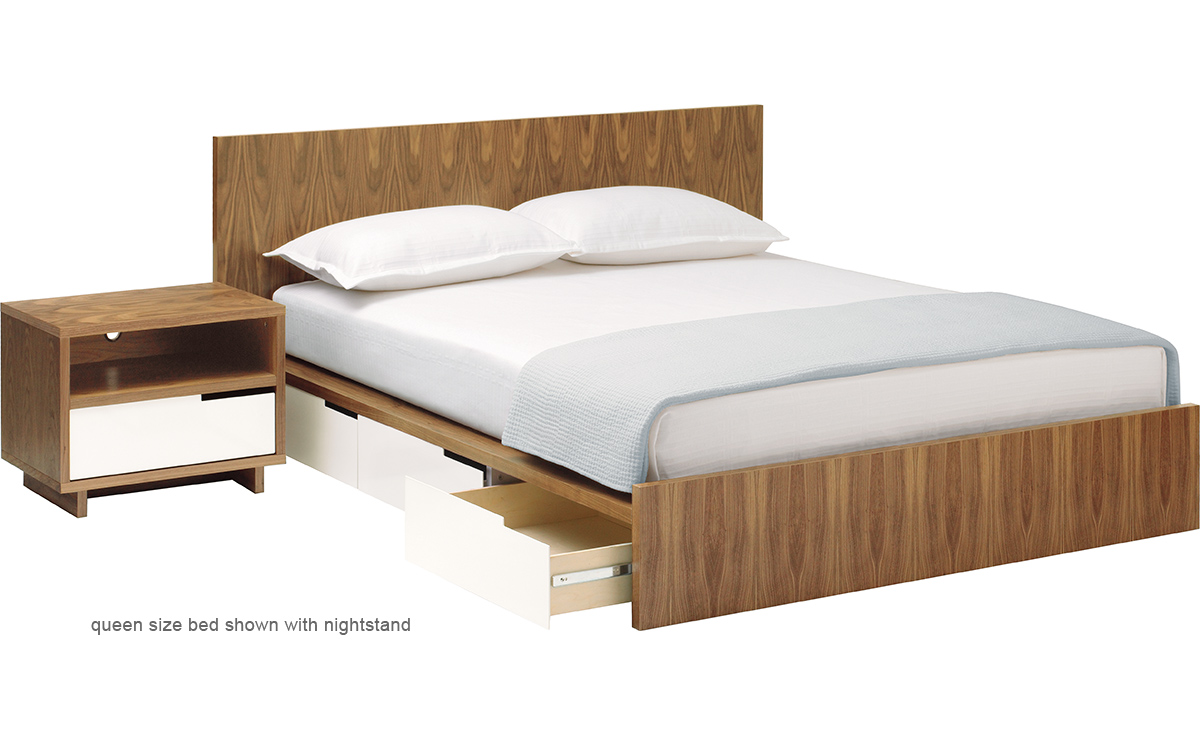 Twin Bed With Storage.Blu Dot Modu Licious Twin Bed