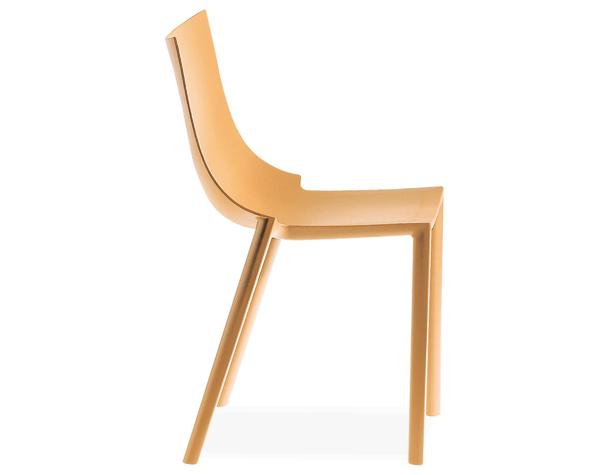 Bo stackable chair 4 pack for Philippe starck chair