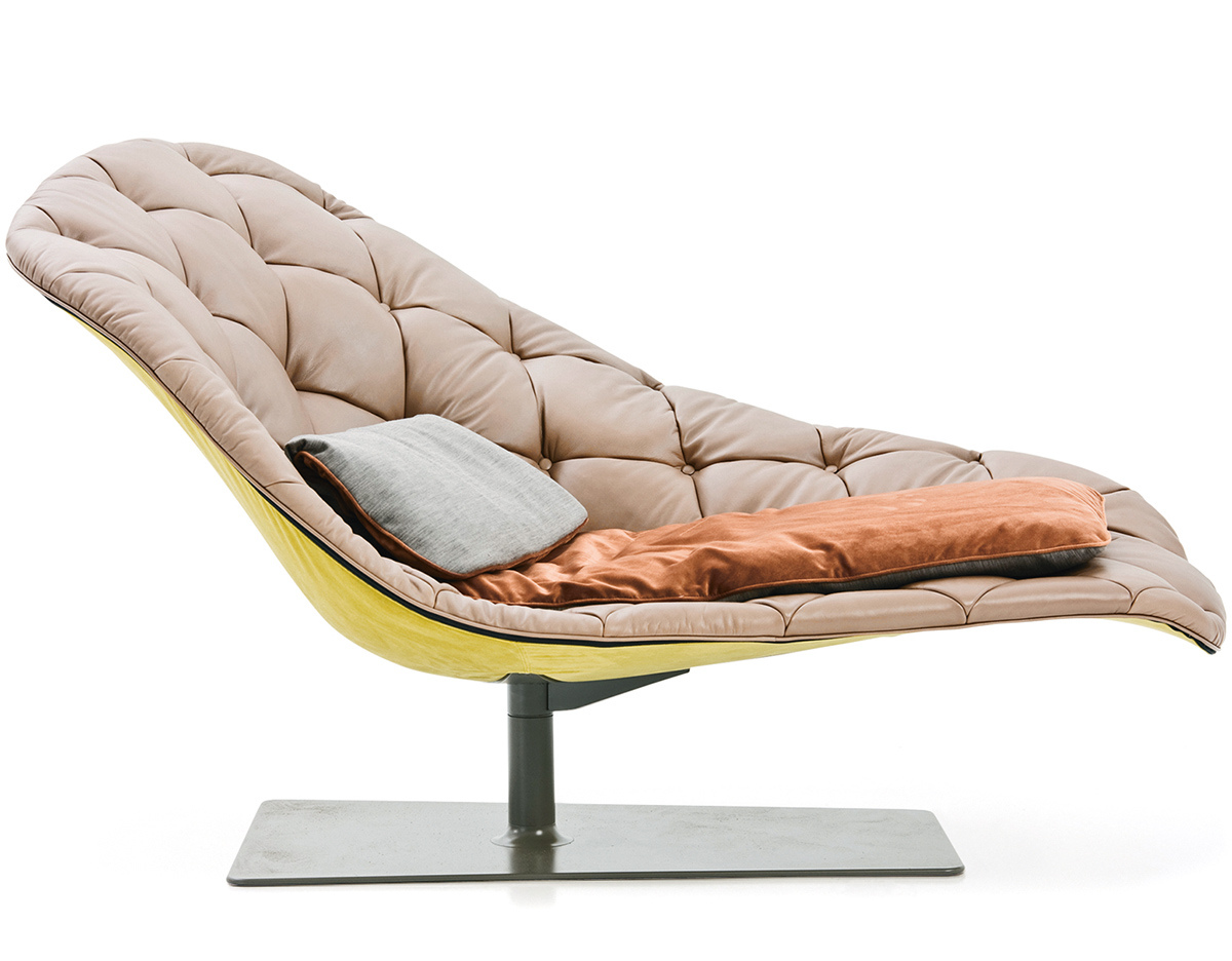 Bohemian chaise longue for Chaise longue moderne