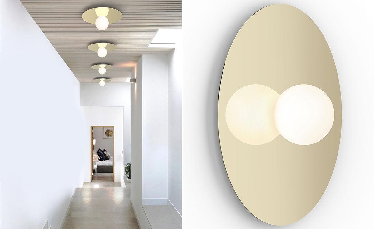Bola Disc Flush Light Hivemodern Com