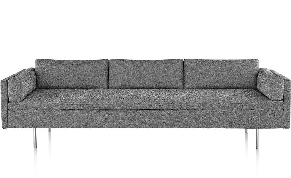 Bolster 3 Seat Sofa Hivemodern Com