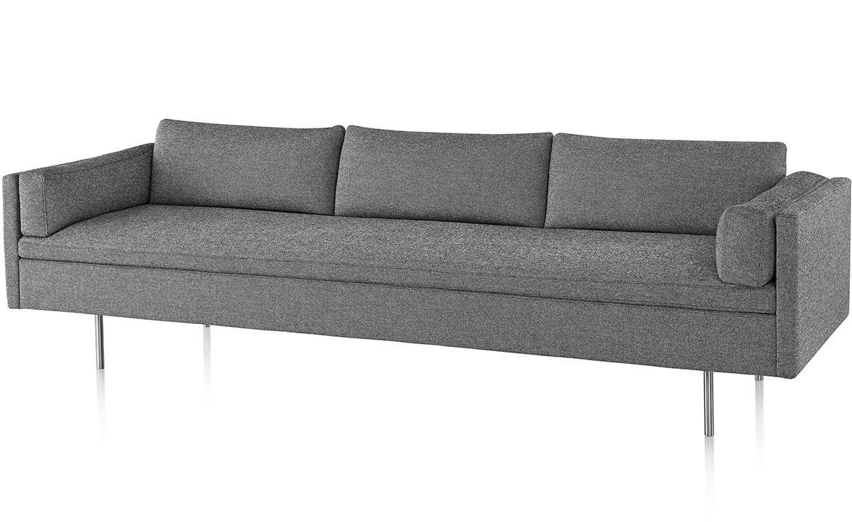 Bolster 3 Seat Sofa - hivemodern.com