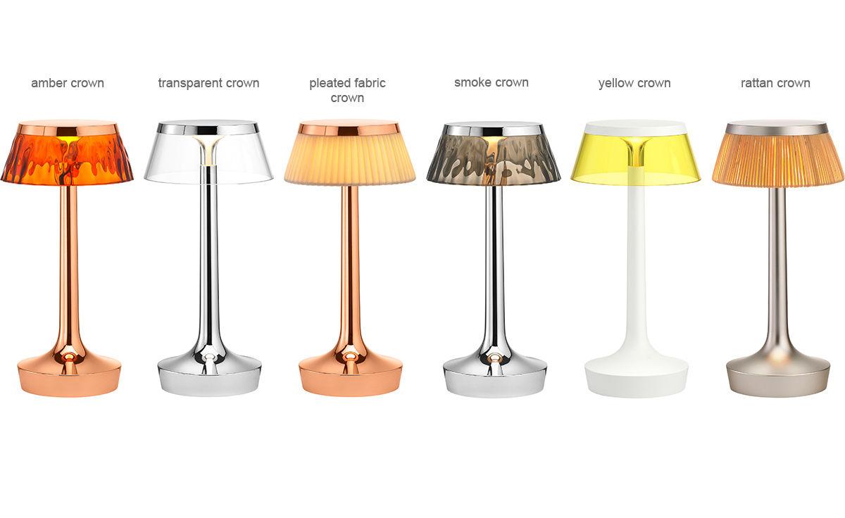 Bon jour unplugged table lamp for Flos bon jour