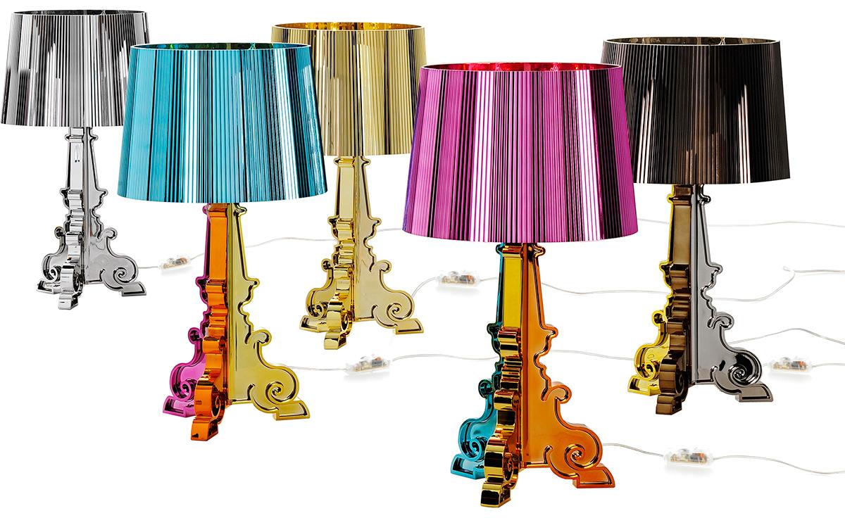 overview battery lamps ferruccio laviani