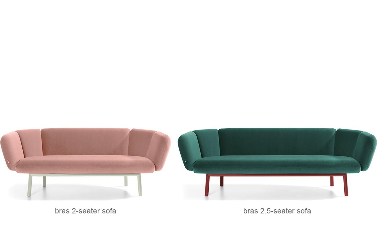 Bras 2 Seat Sofa Hivemodern Com