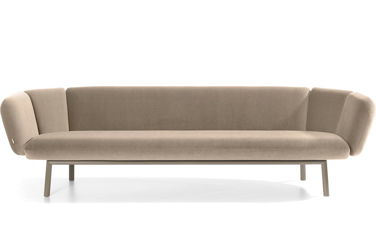Bras 3 Seat Sofa Hivemodern Com