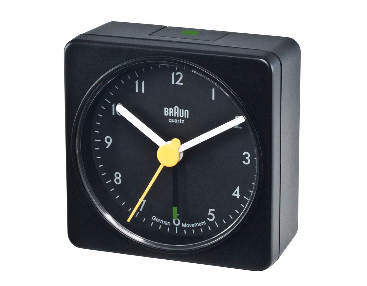 Arne jacobsen furniture - Braun Bnc002 Square Alarm Clock Hivemodern Com