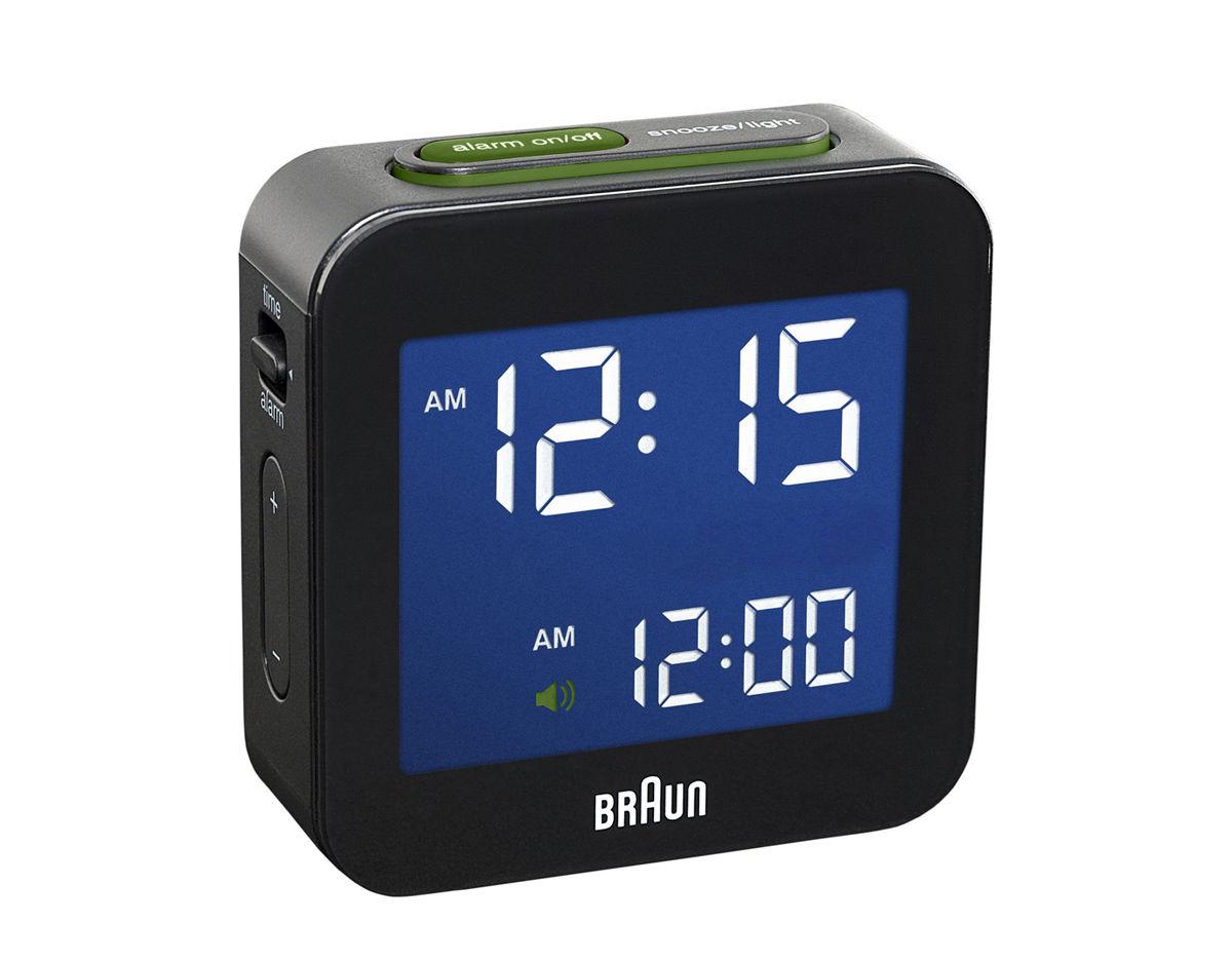 Braun Bnc008 Digital Alarm Clock