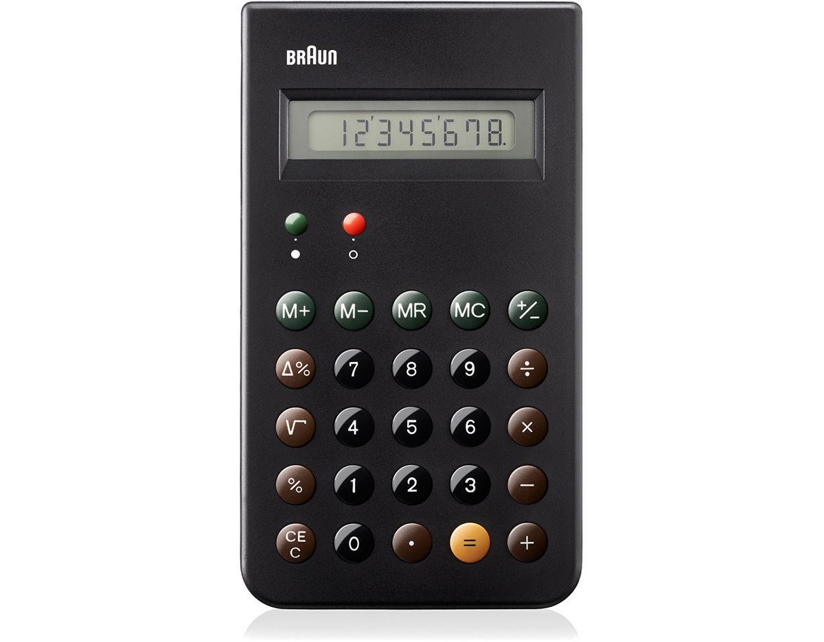 Braun classic calculators | unison.